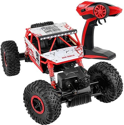 Click-N-Play-Rock-Crawler-RC-Car-Red-Vehicle