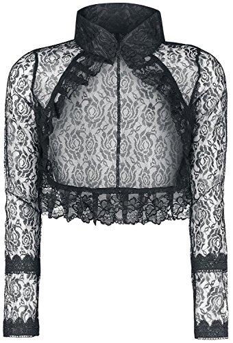 Gothicana by EMP Goth Lace Bolero Bolero nero L
