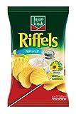 funny-frisch - Riffels Naturell Chips Kartoffelchips geriffelte Chips - 150g