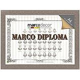 Marco para diploma A4 color gris tela