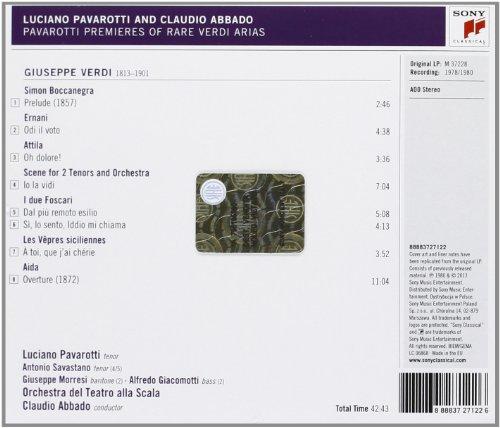 Sings Rare Verdi Arias [Import allemand]