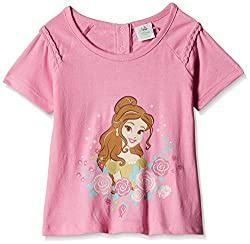 Disney Baby Girls' Blouse Shirt (TC 2406_Pink_9-12 Months)