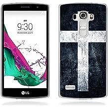 Funda LG G4 Beat - Fubaoda - Alta Calidad Serie de Artística, Gel de Silicona TPU, Fina, Flexible, Resistente a los arañazos en su parte trasera, Amortigua los golpes, funda protectora anti-golpes para LG G4 Beat / G4s (H735)