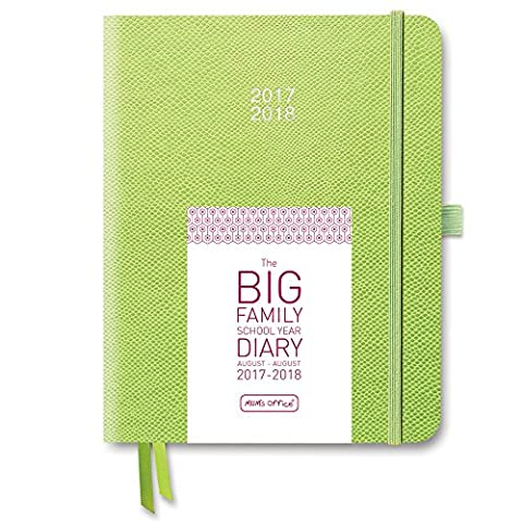 The BIG Family School Year Diary 2017-18 (Lime)