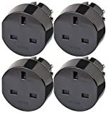 Brennenstuhl Travel Mains Plug GB to EU Earthed Adapter (4)