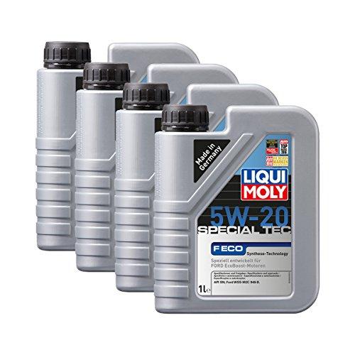 Preisvergleich Produktbild 4x LIQUI MOLY 3840 Special Tec F ECO 5W-20 Motoröl 1L