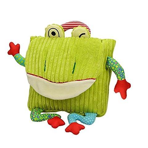 Sac à dos pour enfants Dessin animé Witery tout-petits un sac à dos enfants Sac d'école Sac à dos Sac à main Sac à dos/Cartable pour Unisexe garçons filles [New Release]Green Frog H:25cm