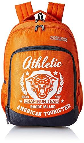American Tourister 27 Ltrs Orange Casual Backpack (AMT VOLT BACKPACK 02 - ORANGE)