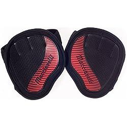 MACCIAVELLI Fitness Grip Pads para crossfit y entrenamiento - La alternativa a guantes gimnasio - Perfecto para calestenia y levantamiento de pesas - Guantes gimnasio