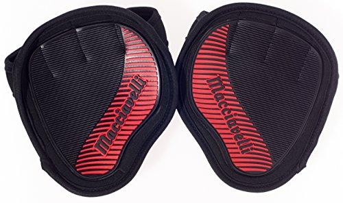 MACCIAVELLI - Fitness Grip Pads für Calisthenics, Crossfit, Gewichtheben & Freeletics – Griff-Polster mit MAX GRIP Gummierung für...