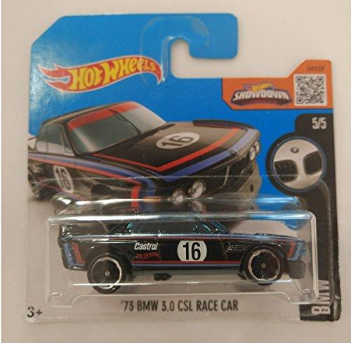 Hot Wheels '73 BMW 3.0 CSL Race Car - Serie BMW 5/5 (Short card)