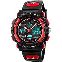 Hiwatch Relojes Deportivos Impermeable para los Niños Reloj de Pulsera Digital a Prueba de Agua Color