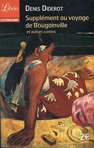 Supplment au voyage de Bougainville : Et autres contes