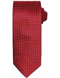Premier - Cravate à motif pied de poule - Homme