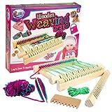 Jacks – Wooden Weaving Set – Strickset mit Webrahmen [UK Import]