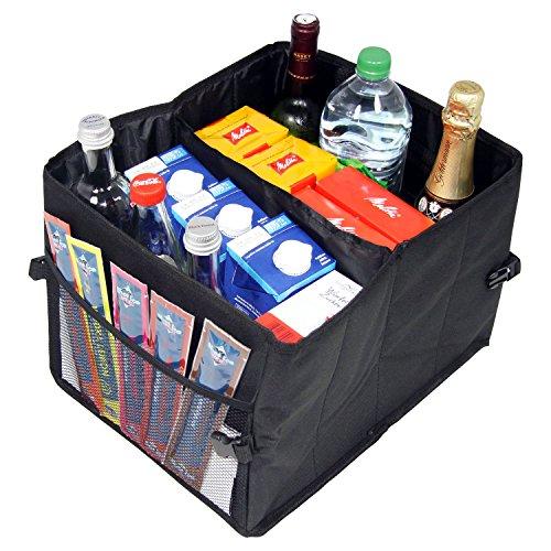 Preisvergleich Produktbild Praktische Faltbox zum Verstauen - Klappbox Kofferraumbox Faltbox Organizer Autobox Tasche Auto Kofferraum Zubehör CB Präsentwerbung GmbH