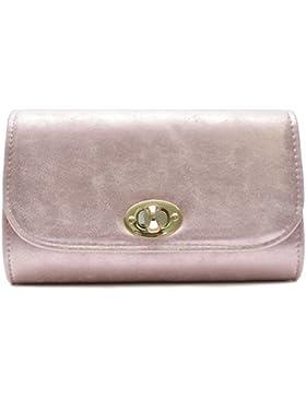 Vain Secrets Damen Umhänge Tasche Clutch Strass oder Saffiano Abendtaschen