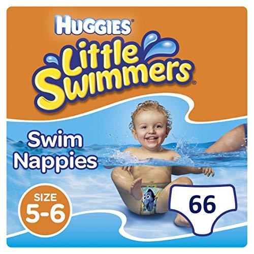 Huggies Little Swimmers Einweg-Schwimmwindeln, Größe 5-6 - 66 Hose Total