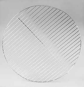 Ø 60 cm Edelstahl Grillrost / 4mm Stäbe ! für Feuerschalen Grillschalen Grill rund Kugelgrill Rundgrill