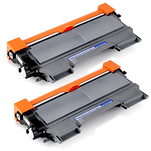 OfficeWorld Toner für Brother TN-2220 TN2220 Tonerkartusche Kompatibel für Brother HL-2130 MFC-7360N DCP-7055 DCP-7055W HL-2240 MFC-7460DN HL-2250DN MFC-7860DW FAX-2840 HL-2270DW, 2 Schwarz (Brother 7860dw Toner)