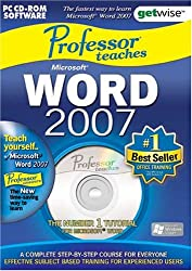 Greenstreet Professor Teaches Microsoft Word 2007 Training Suite (Pc)