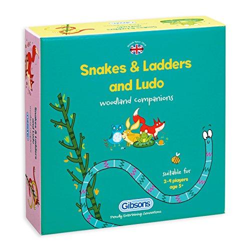Schlangen und Leitern und Ludo Spiel