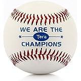 Tera® Hochwertiger Baseball Ball Bälle Baseballbälle aus Wetterfestem Kunstleder und Schlagfestem Kern Weiß mit Roten Nähten Neu (Anderes Baseball-Zubehör ist auch bei uns erhältlich!)