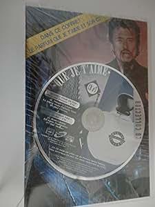 Johnny Hallyday - Parfum QUE JE T'AIME avec son CD