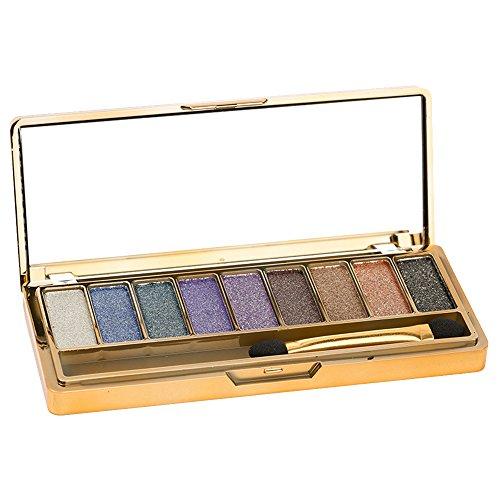 Contever® 9 COLOR Paleta de sombras de ojos Profesional Cosmético de maquillaje in set #4