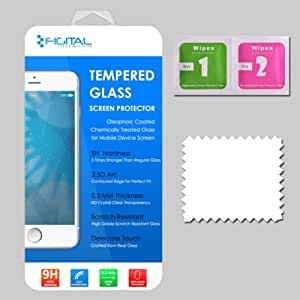 Figital Branded Tempered Glass Screen Protector for HTC M10