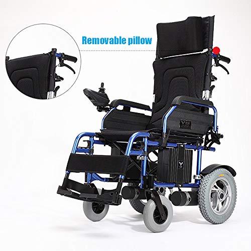Der leichte faltende Durchfahrt-Reiserollstuhl, elektrischer Rollstuhl-Auto-Klugheits-ältere untaugliche Roller, der hellen Tragegurt faltet, kann 200KG tragen