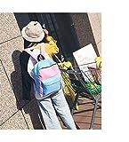 SEBAS Home Persönlichkeit Rucksäcke Einfache Stil High School Unisex Student Schoolbag Canvas Rucksack
