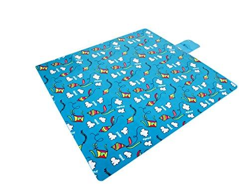 Xiuxiushop Picknickdecken im Freien kampierender kampierender Teppich, der untere Abdichtung verdickt (Color : 3#) (Teppich Abdichtung)