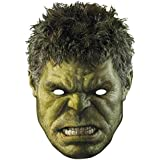 Official Marvel Avengers - Age of Ultron - Hulk - Card Face Mask