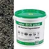 vdw 815 plus 2K-Fugenmörtel 10kg Basalt