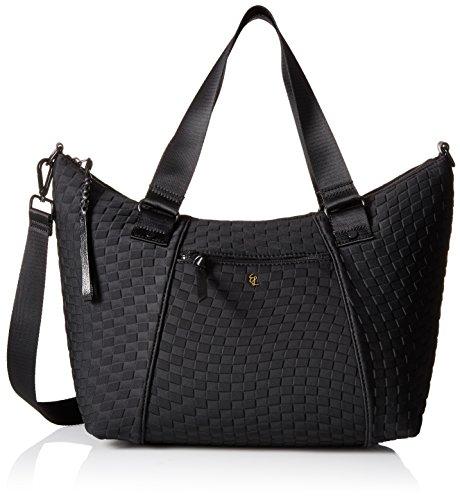 elliott-lucca-louie-satchel-black-neoprene