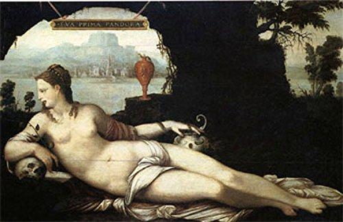 Eva Prima Pandora, Jean Cousin THe Elder, 60x40 cm -