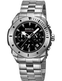 Breil orologio da uomo con cronografo e argento in acciaio INOX TW1125