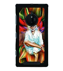 PrintVisa Back Cover for Nokia Lumia 830 (Multi-coloured)