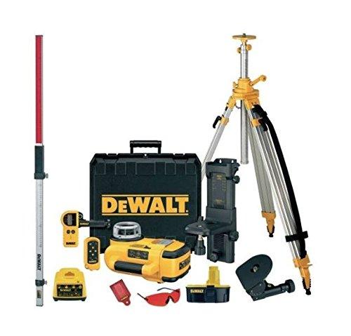 DeWalt DW079PKH-QW - KIT Láser rotativo autonivelante horizontal y vertical. Alcance 300m