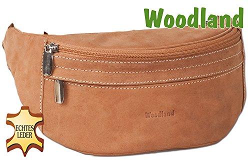 Woodland-Grande-poche-avant-avec-beaucoup-de-douceur-chamois-non-traite