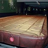 Funda Spartan para mesa de billar británico (snooker), impermeable y de alta resistencia, de 3 metros, en color burdeos