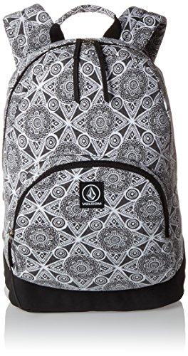 Volcom - Schoolyard Canvas Backpack Rucksack, Mochilas Mujer, Schwarz (Black), 15x43x30 cm (B x H T)