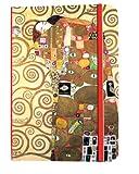 Fridolin Carnetd'adresses motif Klimt L'Accomplissement
