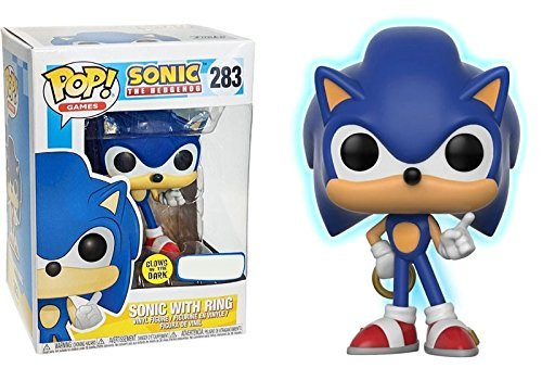 Funko Pop! Games : Sonic The Hedgehog - Sonic mit Ring - Vinyl Figur 9cm