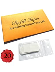 Face- und Necklift-Tapes, Nachfüllpack, Anti-Ageing by Art Harding 20 Single/40 DoubleTapes