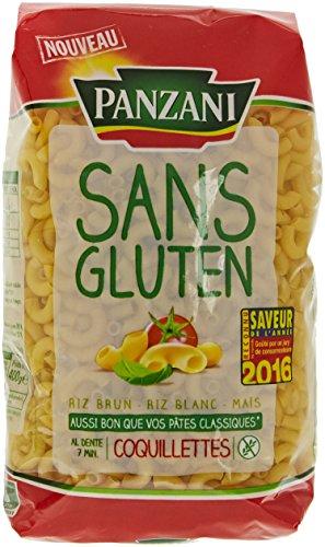Panzani Pâtes Coquillettes sans Gluten 400 g