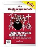 XDrum Classic Schlagzeug Komplettset Schwarz inkl. Schule + DVD Vergleich