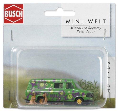 busch-environnement-bue7702-modelisme-ferroviaire-mini-scene-naturisme-au-camping