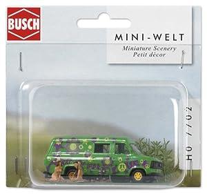 Busch 7702 Mini World - Furgoneta en miniatura importado de Alemania